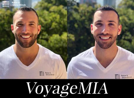 Raise & Shine Blinds Featured on VoyageMIA