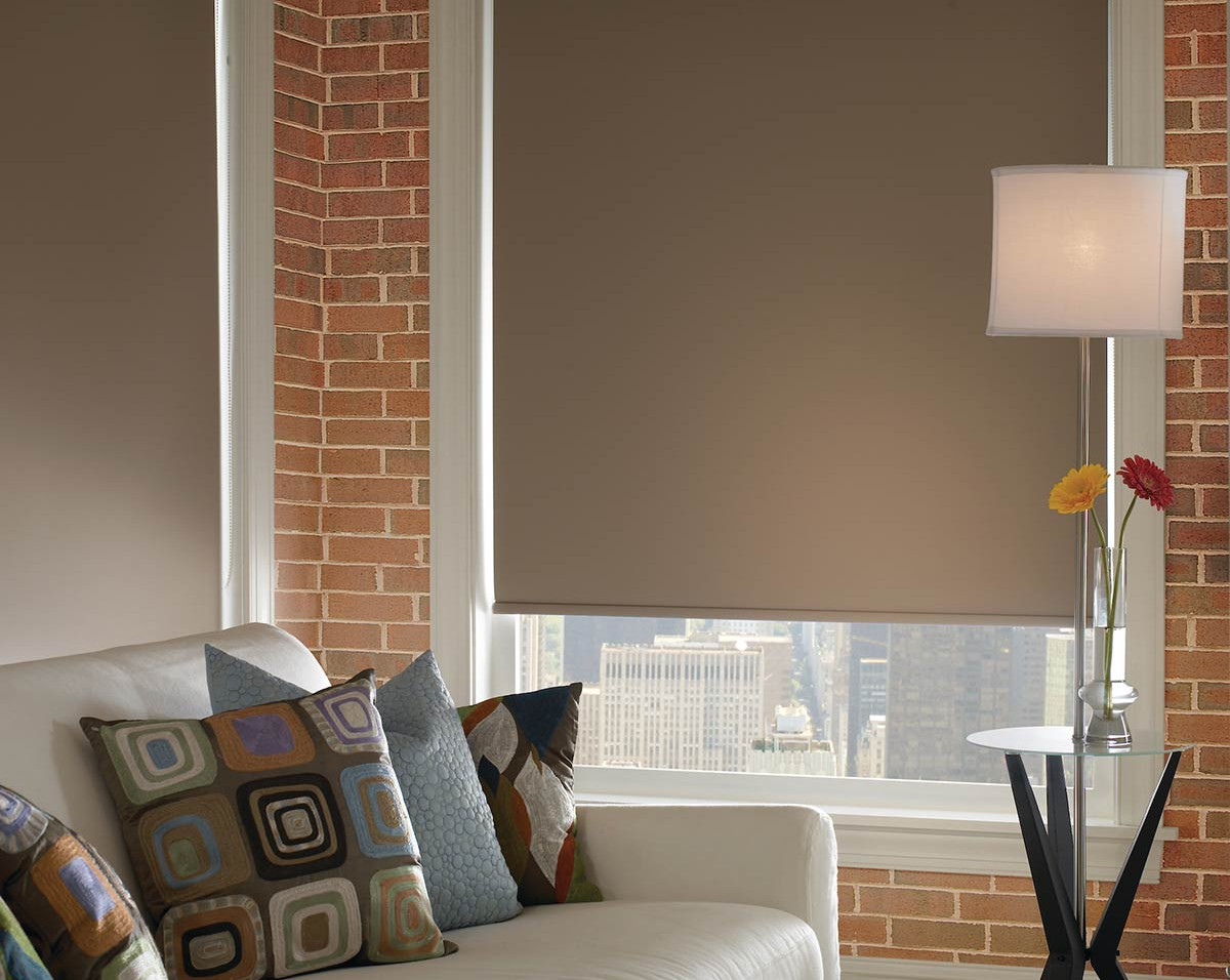 brown-room-darkening-roller-shade-brick-
