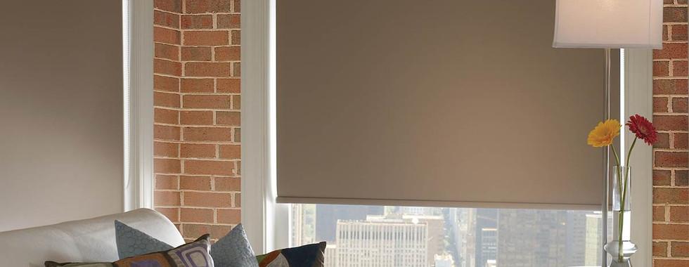 brown-room-darkening-roller-shade-brick-