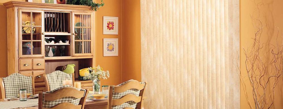beige-patterened-vertical-blinds-dining-