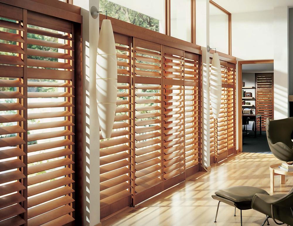 hardwood shutters