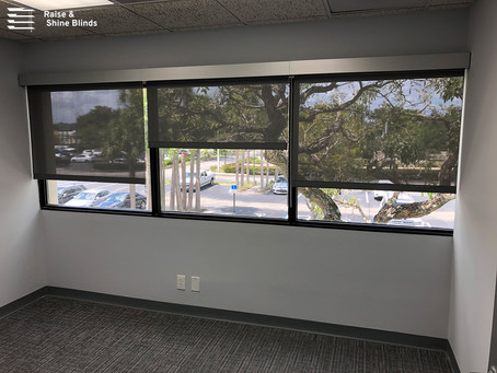 Commercial Solutions: Solar Shades