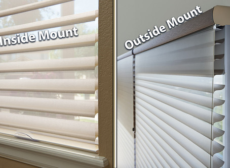 Window Covering Mounting Options and Considerations