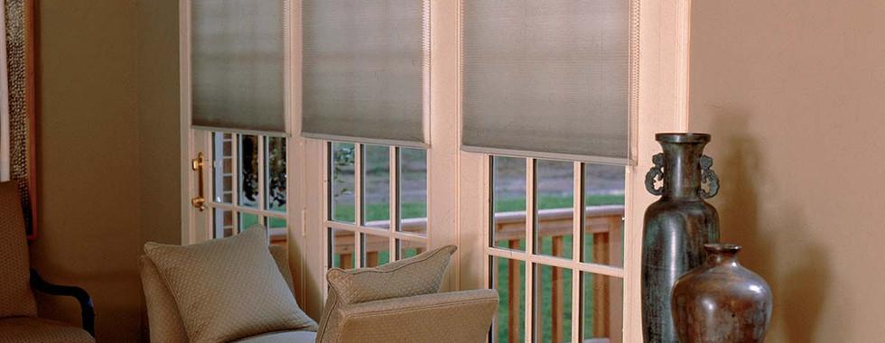 translucent-honeycomb-shades-french-door