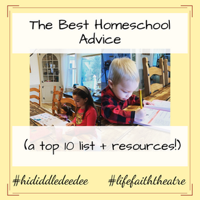 The Very Best Homeschool Advice (a top 10 list + resources!)