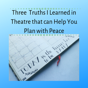 Three Truths Theatre Taught Me About Planning with Peace
