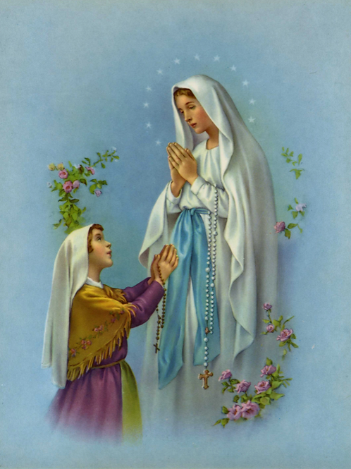 The Healing Energies of Our Lady of Lourdes - Love, Serenity & Divine Healing