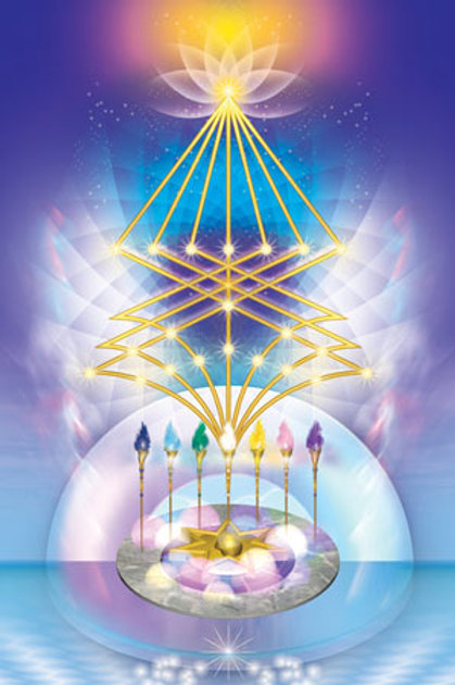 The 7 Rays of the Elohim Package - Increased Psychic Awakening & Unification
