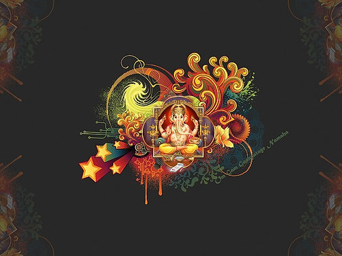 Ganesha Anointing - Clear Blockages from your Life's Path