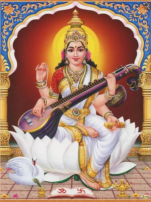 The Sarasvati Empowerment - Sacred Creativity, Fertility & Wisdom