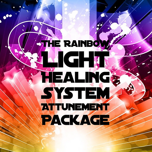 The Rainbow Light Healing System 1-8 Attunement Package