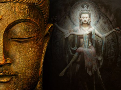 Sunstone Moonstone Connection Empowerment - Blessings from Buddha & Quan Yin
