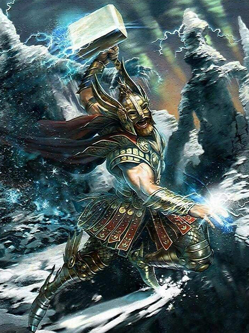 Thors Hammer Empowerment - Spiritual Strength and Courage