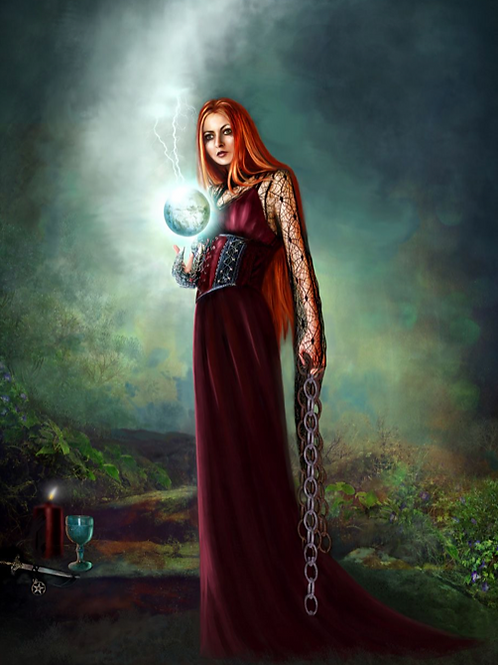 Aradia Queen of the Witches - Protection, Inner Power & Divine Awakening