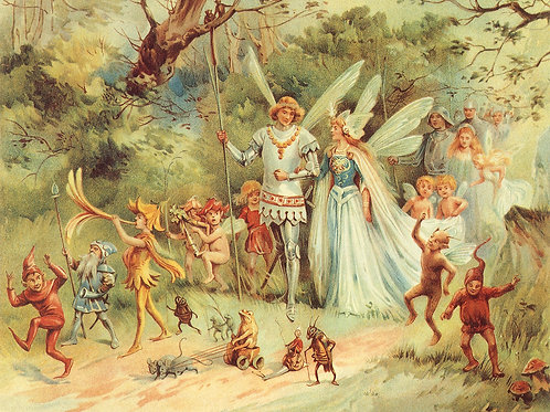 The Faery King & Queen Connection Empowerment Package