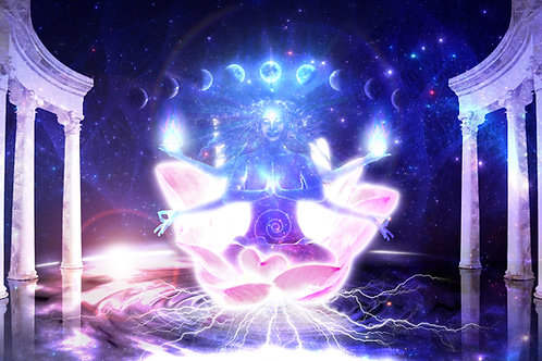 The Etheric Temple of the 4 Goddess Activation