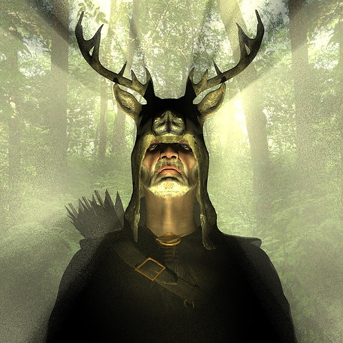 Herne The Hunter Initiation - Oneness with the Divine Masculine & Feminine
