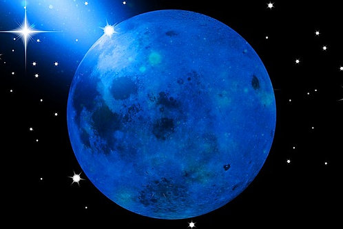 Isis Blue Moon Healing System - Cooling Healing Energy & Environmental Clearing
