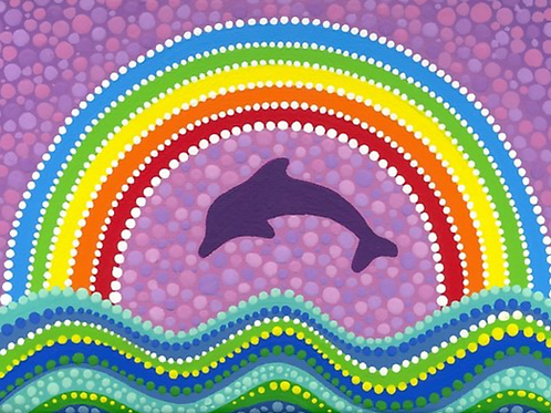 Dolphin Rainbow Chakra Healing System - Chakra Alignment with Etheric Dolphins