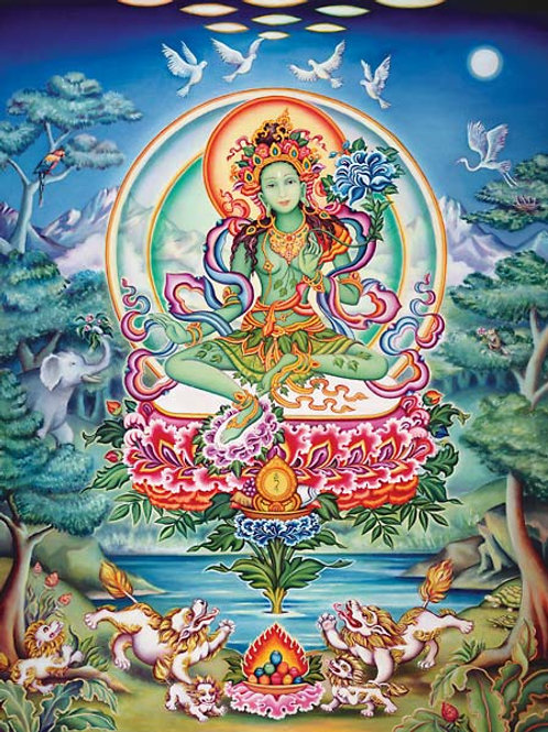 Green Tara Seichim - Release from Pride, Envy & Protection from Psychic Attack