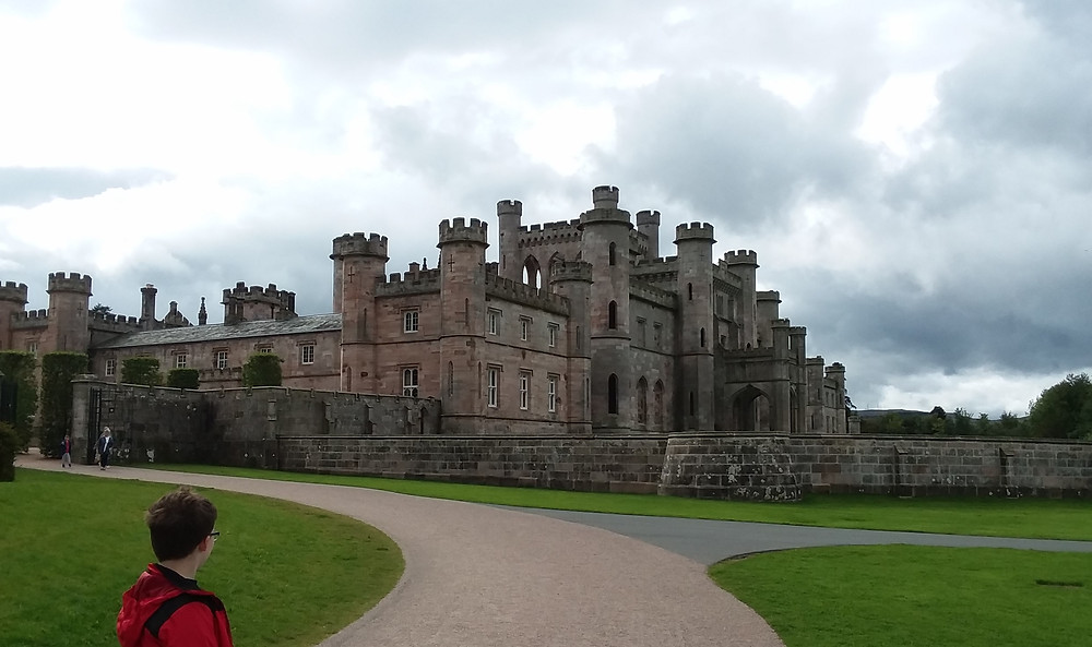Lowther Castle, Penrith, Cumbria, United Kingdom