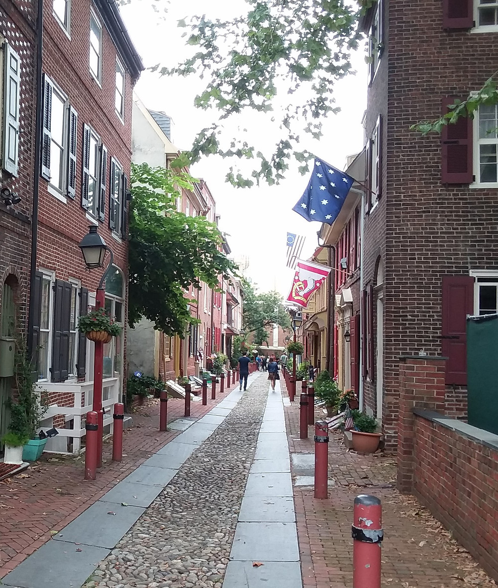 Elfreth's Alley, Philadelphia's Old City