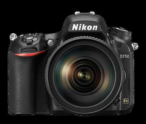 Nikon D750 + Lente 24-120MM