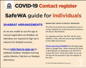 Covid-19 Contact Register