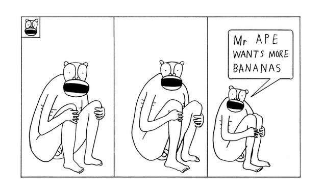 Mr Ape, comic (2015)