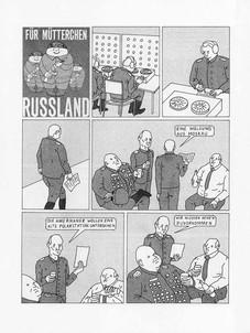 Für Mütterchen Russland, Comic, Ampelmagazin #13 (2015)