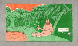 Mr Ape, comic, backcover (2015)