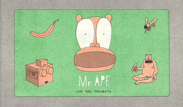 Mr Ape, comic, frontcover (2015)