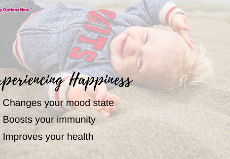 Being happy is a state of mind, or is it?