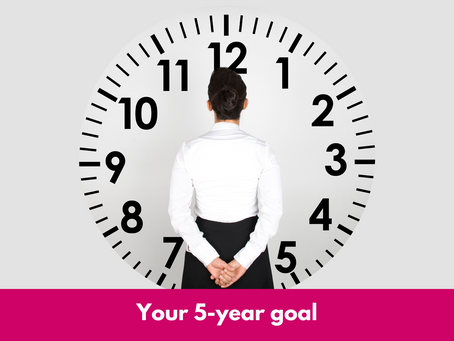 Your 5-year goal