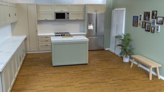 Kitchen Concept Sage