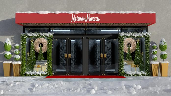 Neiman Marcus Holiday Store Display