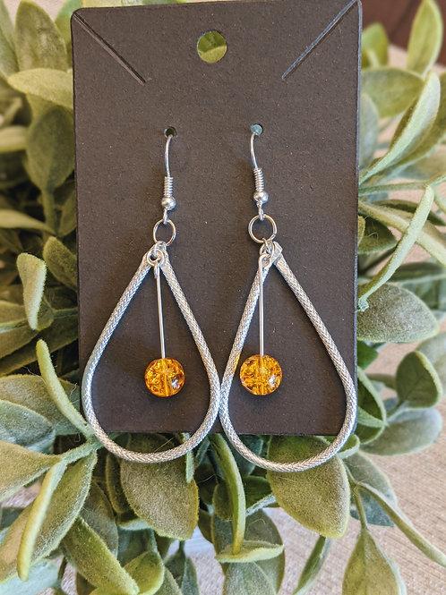 Wire Drop Earrings