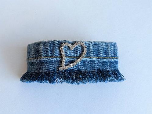 Heart Jean Bracelet