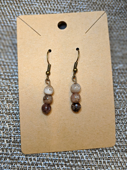 Dainty Earth Tone Earrings