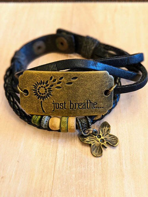 Just Breathe Bracelet