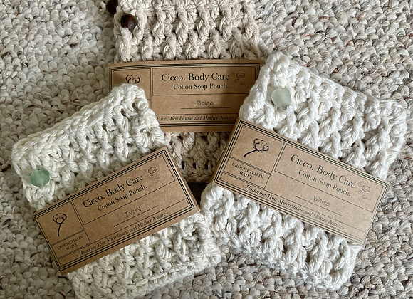 Crocheted Soap Pouch