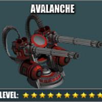 War Commander Bases   Avalanche Turret The War Commander Avalanche Turret reduced Equipping Cost