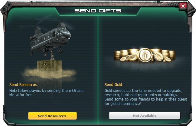 Only 3 mos in game and bought some War Commander gold to support u. Now I am told haven't spent enough