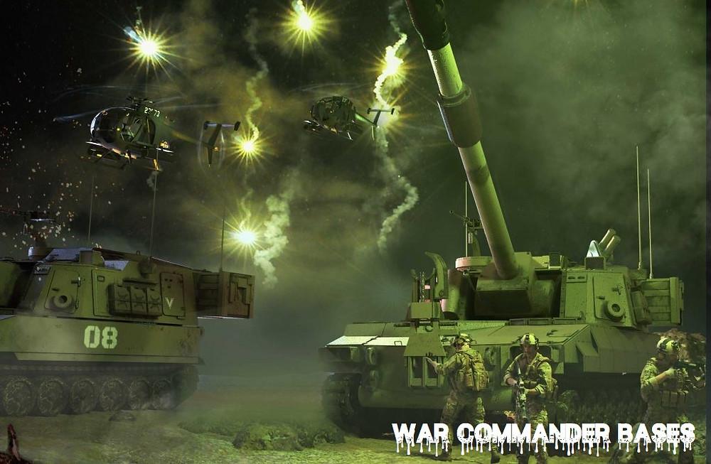 War Commander Bases | V2 Artillery The War Commander V2 Artillery became available for Player use via Special Ops
