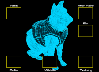 War Commander | War Dog Schematic The War Dog Schematic has 6 Component Slots each containing 1 to 2 Components.