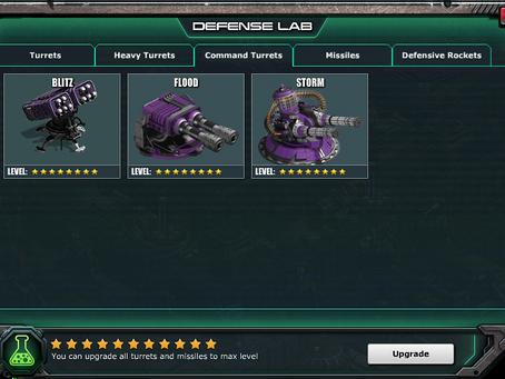 War Commander Bases | Defense Lab Upgrades