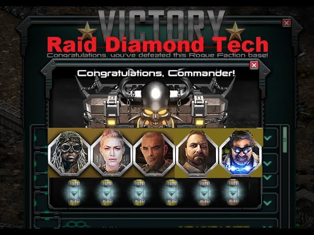 What is War Commander Diamond Tech ? and is it worth getting  R: It's the best War Commander event prize they have released in a while, it increases range
