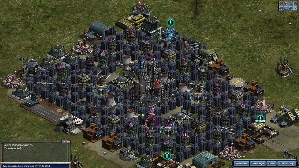 War Commander Bases | Good Setup  Do you really think normal daily hard core War Commander gamer would give up