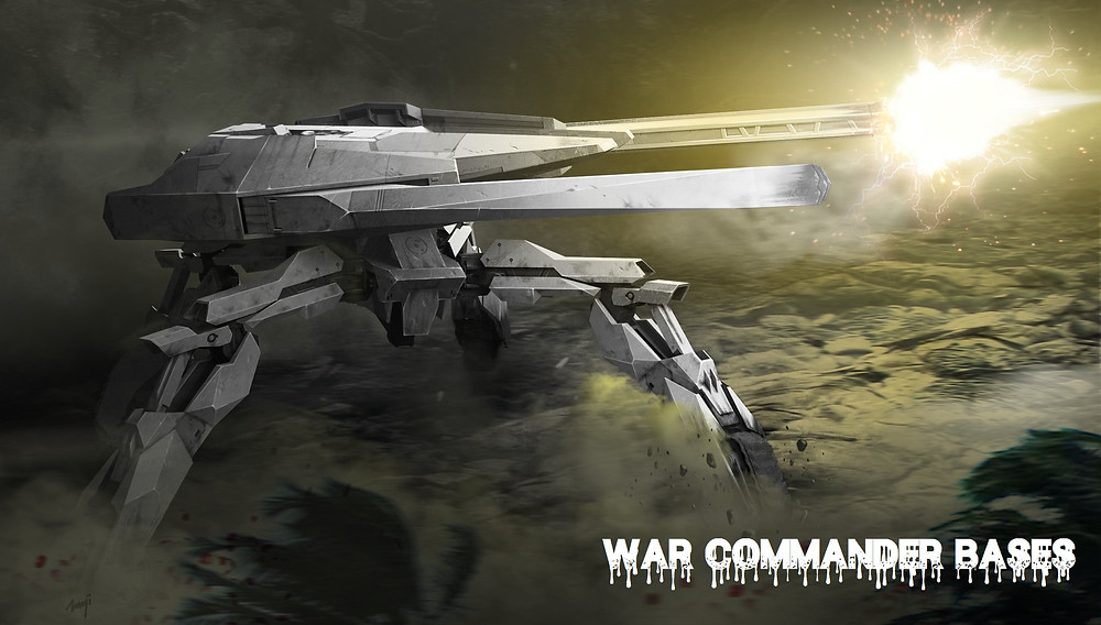 War Commander Fire Bomb Artillery  The War Commander Fire Bomb Artillery is able to Target and Fire upon All Ground Units The War Commander Fire Bomb Artillery