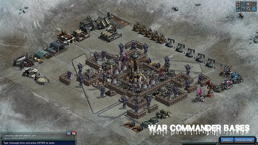 War Commander Bases | death-upon-u (43)  My War Commander units are not going to a target. Reloaded game. Is a glitch occurring
